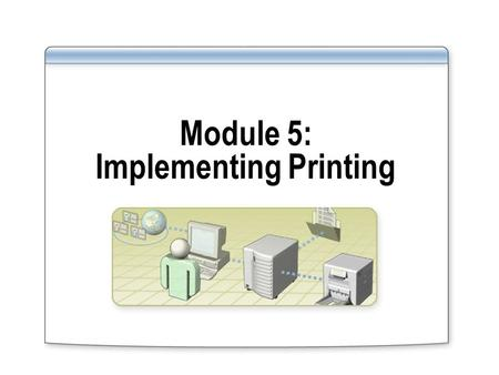 Module 5: Implementing Printing. Overview Introduction to Printing in the Windows Server 2003 Family Installing and Sharing Printers Managing Access to.