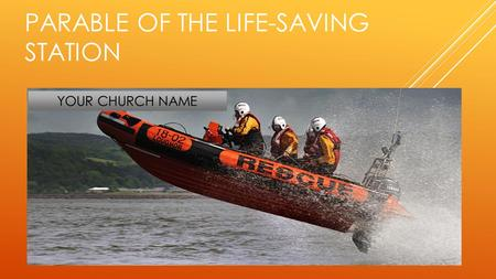 Parable of the Life-Saving Station