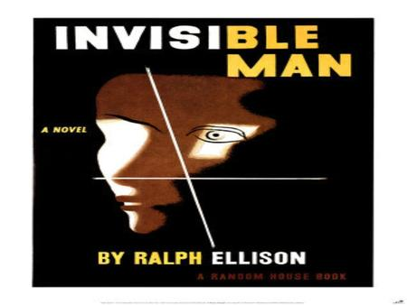 Ralph Ellison 1913-1994 Named by his father after Ralph Waldo Emerson Attended Tuskegee Institute from 1933-1936 trained as a musician Visited New York.