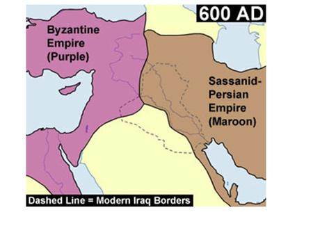 Muslim Empire began to decline and divided into independent kingdoms Battles for control of the kingdoms until around 1260 CE Then a new Muslim empire.