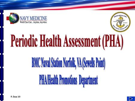 ANNUAL PERIODIC HEALTH ASSESSMENT (PHA) PROCESS - ppt video online ...