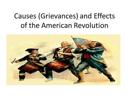 economy as the primary cause for the american revolution The primary cause of the american revolution was rooted in american revolution however, a primary reason the war was expensive toward the economy which.