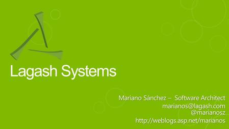 Lagash Systems Mariano Sánchez – Software