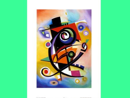 Kandinsky was born on December 16 th 1866 in Russia. Music helped him create his paintings. He especially loved opera. He produced some very famous abstract.