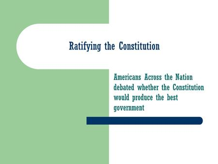Creating the constitution worksheet chapter 2