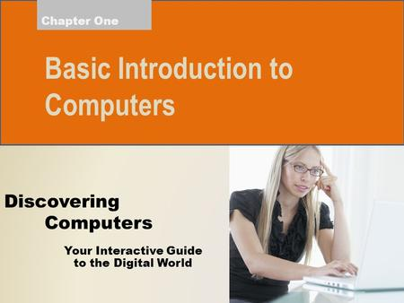 Basic Introduction to Computers