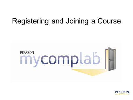 Registering and Joining a Course. What do I need to register? All students need:  A student access code An access code looks like this: SMPLE – FRILL.