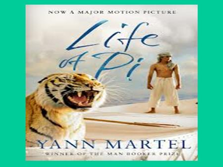 "Life of Pi by Yann Martel ""A story to make you believe in the soul- sustaining power of fiction"". - Los Angles Times Book Review - Los Angles Times Book."