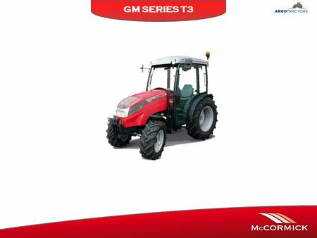 GM SERIES T3. ENGINE * Hp / KW ISO Tier III YANMAR T3 4TNV88 2,200 Lt 4 Cyl. NA. (Mechanical Injection) GM 40 GM50 35 / 2648 / 35 GM45 YANMAR T3 3TNV88.