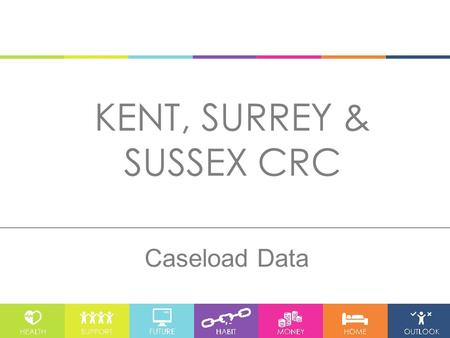 KENT, SURREY & SUSSEX CRC Caseload Data. 1. Caseload – Number of Service Users With 800 service users the Brighton Office has almost double the caseload.