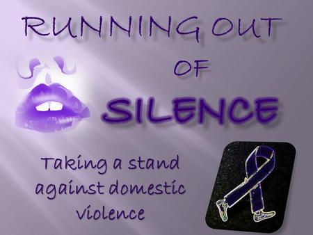 Taking a stand against domestic violence. New Domestic Violence PSA - It Rarely Stops (HD)