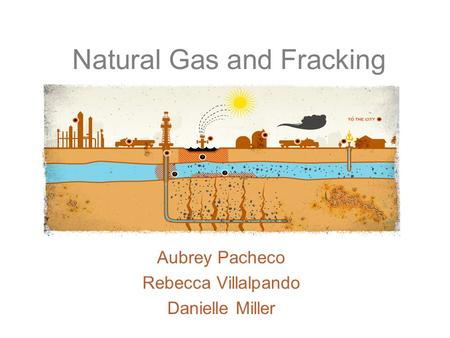 Natural Gas and Fracking Aubrey Pacheco Rebecca Villalpando Danielle Miller.