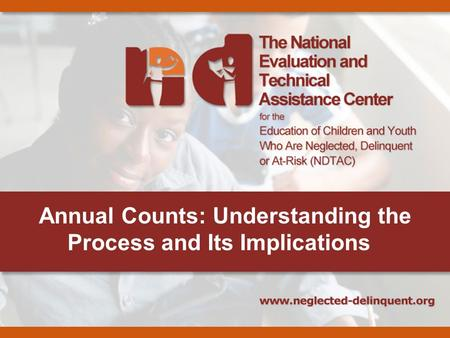Annual Counts: Understanding the Process and Its Implications.