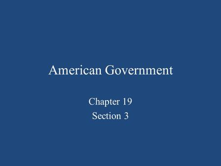 American Government Chapter 19 Section 3. Freedom of Speech 1 st and 14 th Amendments Guarantees spoken and written word liberty Ensures open discussion.