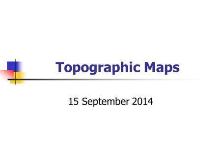 Topographic Maps 15 September 2014. Why are there two roads from Louberg to Luluville?