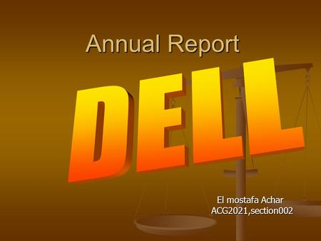 Annual Report Annual Report El mostafa Achar El mostafa Achar ACG2021,section002 ACG2021,section002.