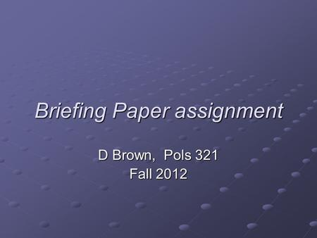 Concept paper writing ppt