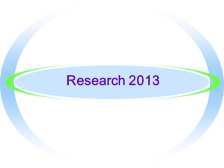 Research 2013. Identifying High-Quality Sites When can you trust what you find on the Internet?