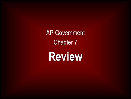 AP Government Chapter 7Review. Between the federal system the amount of campaigns the United States holds has had what kind of effect on participation.