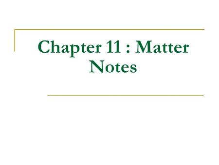 Chapter 11 : Matter Notes. Mole (mol) is equal to 6.02x10 23 The mole was named in honor of Amedeo Avogadro. He determined the volume of one mole of gas.