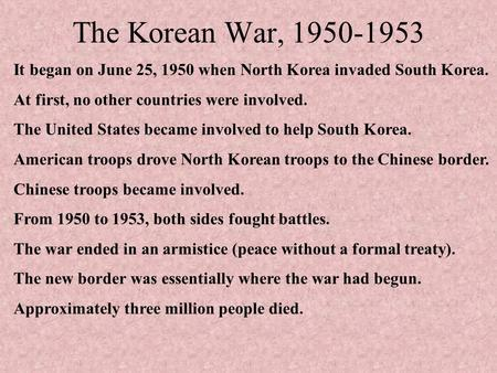 ppt 6 what were the causes and results of the korean war