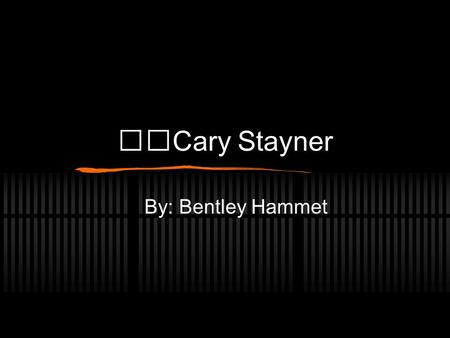 Cary Stayner By: Bentley Hammet. On February 12, 1999 Carole Sund, her daughter Juli 15, and their 16 year old foreign exchange student Silvina Pelesso.