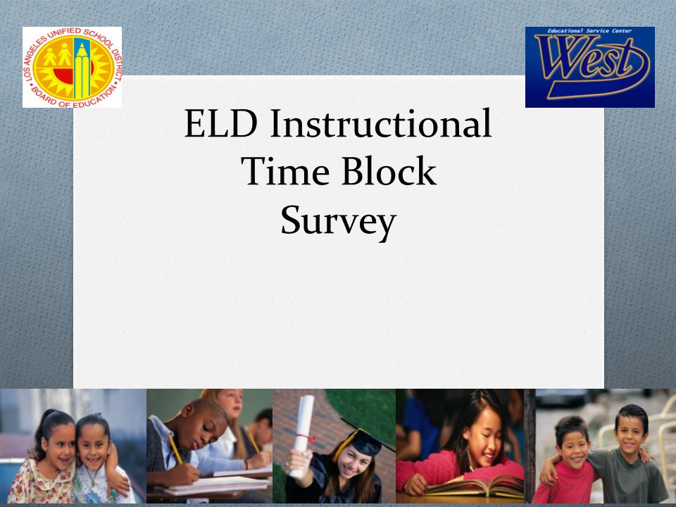 Why do we want to further discuss the ELD Instructional Time Block.
