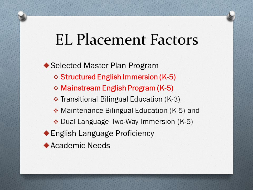 Must Do  Step 1: Update Master Plan information and ELD levels in SIS  Step 2: Use available SIS sentences within REF 3661.2, page 2, to generate the number of students at each grade level by Master Plan program, language classification and ELD level.