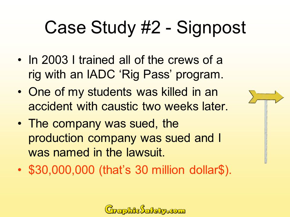 Case Study Continued… What I Did I had used an early prototype of a workbook I was writing.