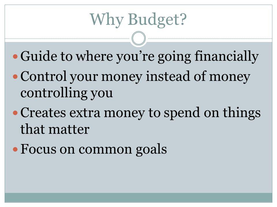 Who Should Set or Formulate a Budget.