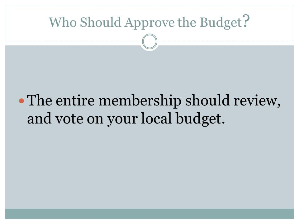 When Should a Budget Be Set.Near the End or at the Beginning of Your Fiscal Year.