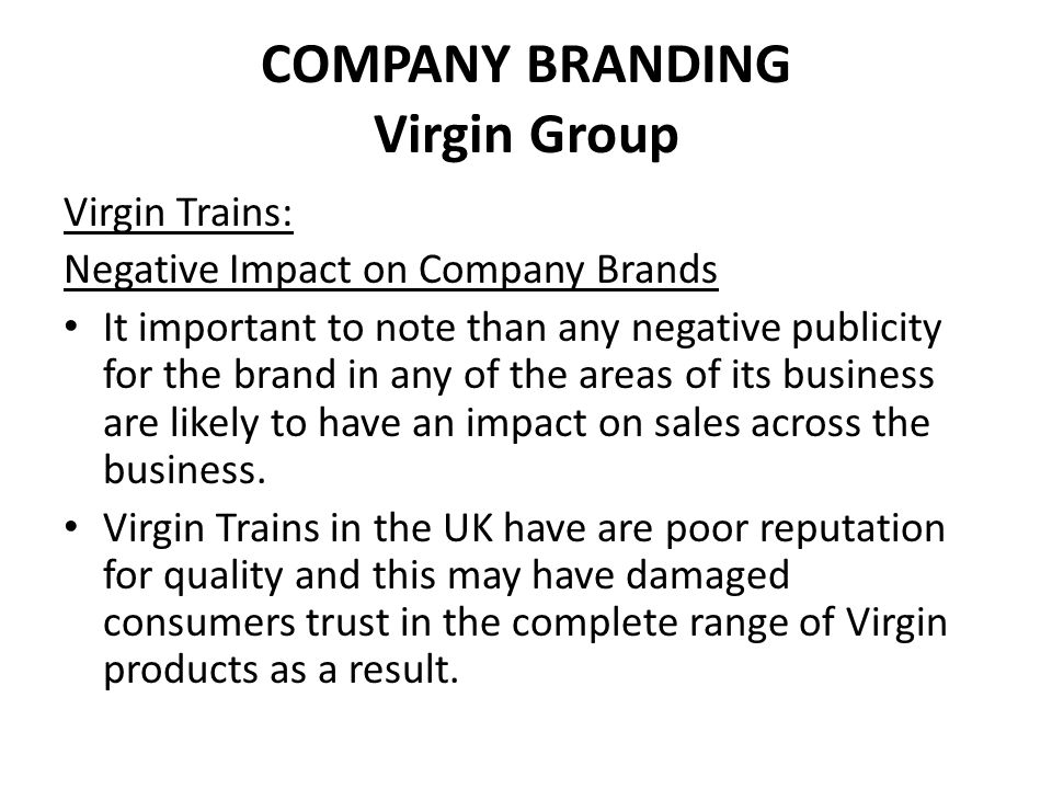 OWN LABEL BRANDING Retailers can brand products under their own name.