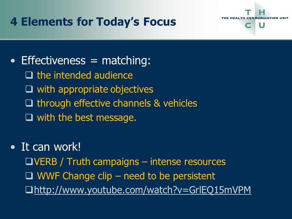 Step 3: Audience Analysis & Segmentation Identify who you will focus campaign efforts towards What do you know about them Use this info to make other campaign decisions