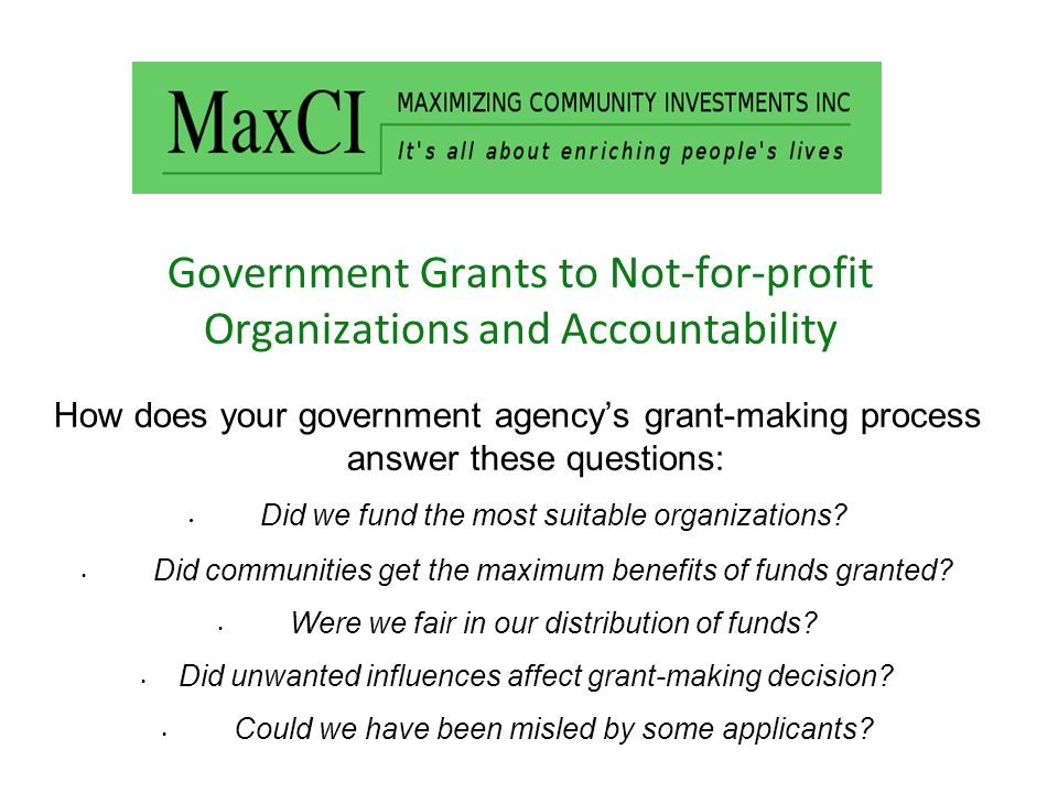 Questions to us: Is it possible to answer those questions before we select applicants to receive funds.