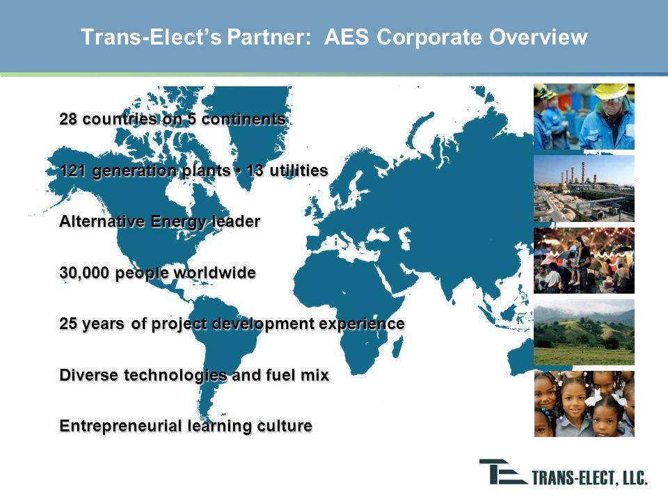 AES 2006 Financials Revenues Gross margin Net cash from operating activities $12.6 billion$3.6 billion$2.4 billion