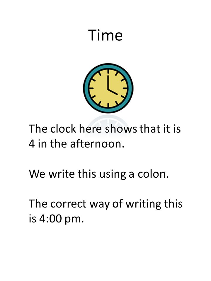 Some more time This clock shows that it is 1 in the afternoon and 54 minutes.