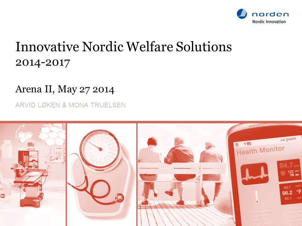 www.nordicinnovation.org Content of the lighthouse project – Cooperation program 2014-2017 2 Effort on need-driven innovation Building on existing effort on innovative public procurement Innovation sluices and testbeds on a Nordic level Business Development – cross border consortia Export potential