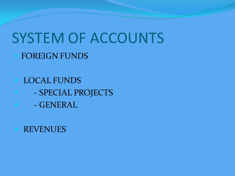 BALANCE SHEET Accounting of Fixed Assets Fully donated Partly donated/subsidised Bought from specific grants Depreciation