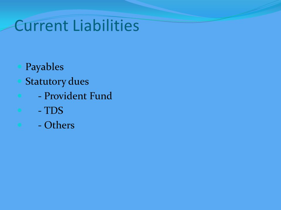 BALANCE SHEET Capital Fund General Fund Corpus Fund - interest accrued on corpus investments - transfer to corpus Specific Funds - building fund - others