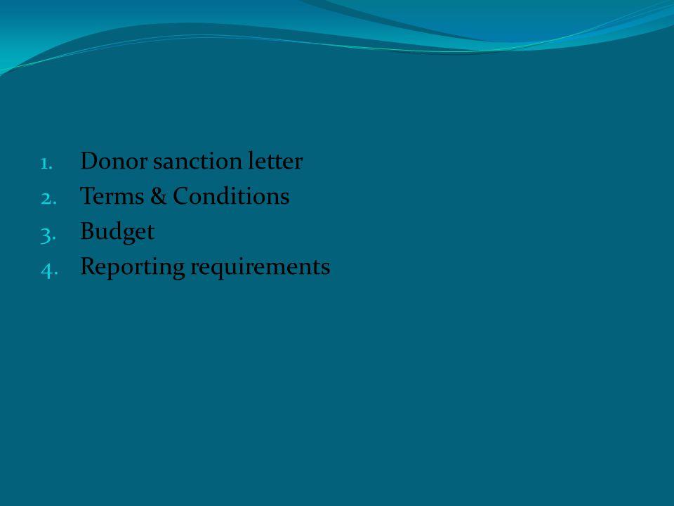 1.Corpus / Endowment fund 2. Unutilized Grants 3.