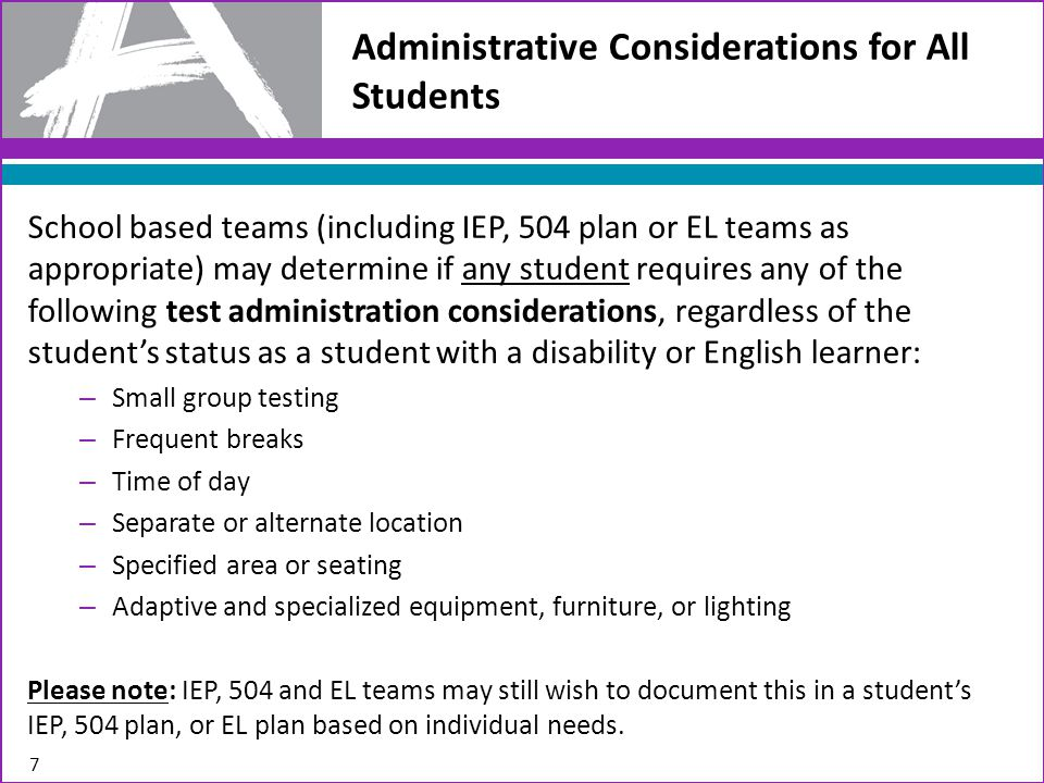 Let's Review the Accessibility Features and Accommodations that are Available for the PARCC Paper-Based Field Test.