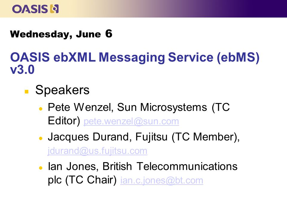 Update on Version 2 Messaging Stable, robust messaging system Used in some very large deployments New software released from Hermes (open source), IBM and Oracle Still fit for purpose for non-Web Services infrastructure