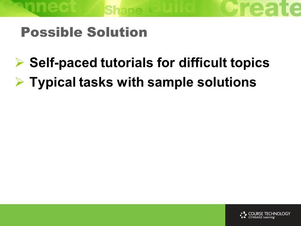 Classroom Chalk-talk Common Tutorial Styles