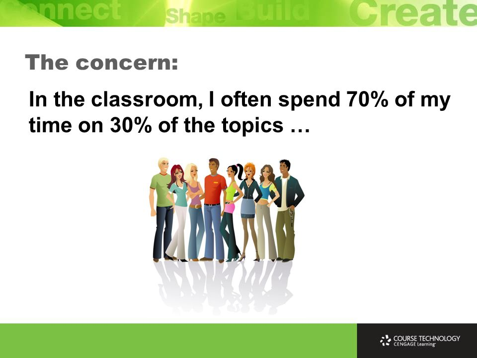 If a topic is difficult in the classroom, it is even more challenging for online students.