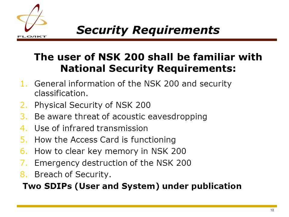 19 How to use NSK 200 1.Switch on the phone Insert CIK Ok Skip Please wait, communicating with SC… 2.Insert CIK and press OK You can now remove CIK Ok 3.Remove CIK (insert the PIN code) Enter PIN1 Ok Skip **** 4.Ready for use in encrypt.