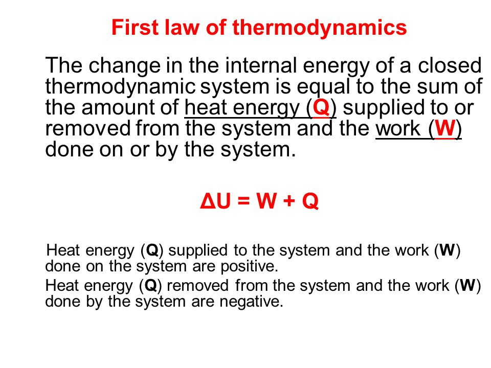 Second law of thermodynamics Not all processes, that theoretically might occur according to the first thermodynamic law, will ever occur in nature..e.