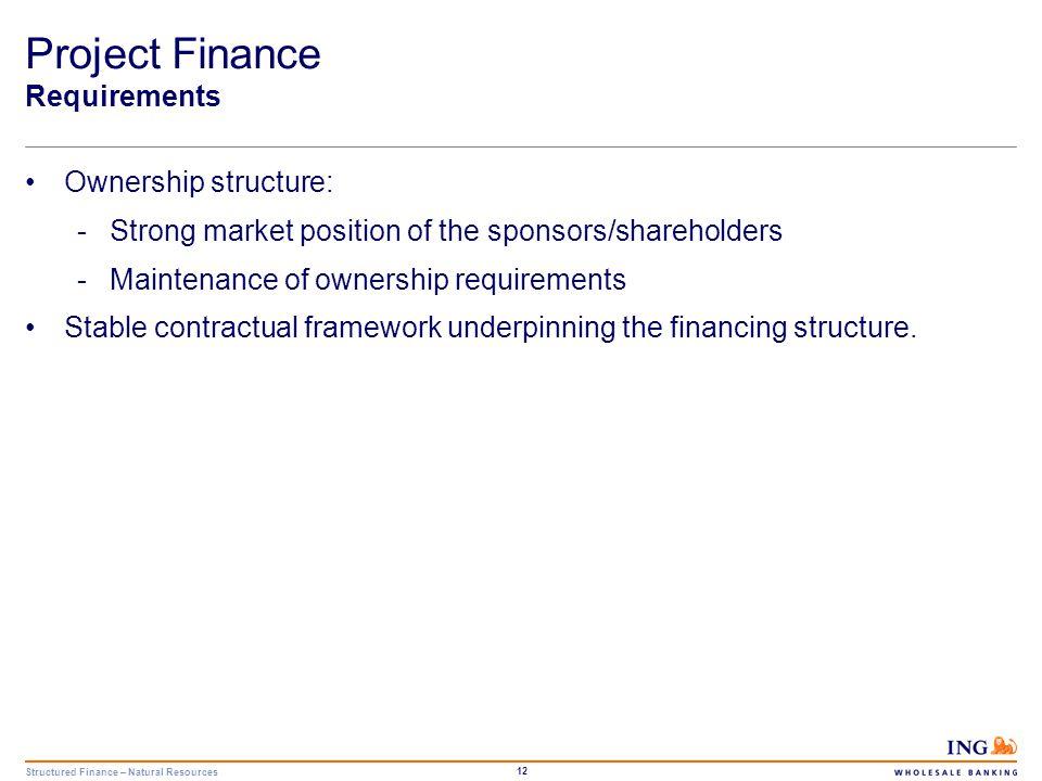 Structured Finance – Natural Resources 13 4. Case Study: Trans Austria Gasleitung GmbH