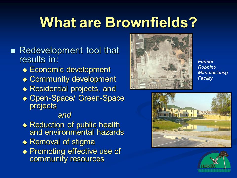 Florida's Brownfields Process
