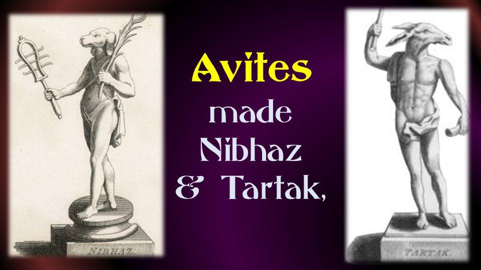 Sepharvites Adrammelech and Anammelech