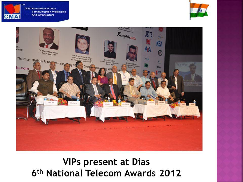 15 African Ambassadors at 6 th National Telecom Awards 2012